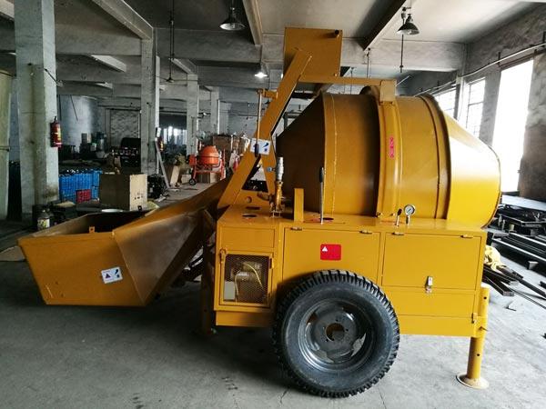 JZR500 diesel cement mixer to Australia