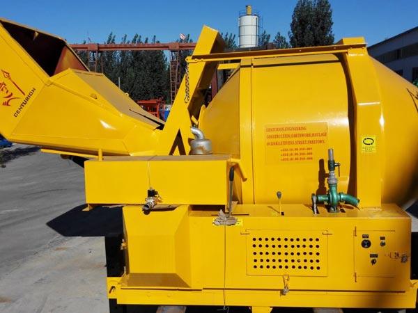 JZR500 diesel cement mixers to Sierra Leone