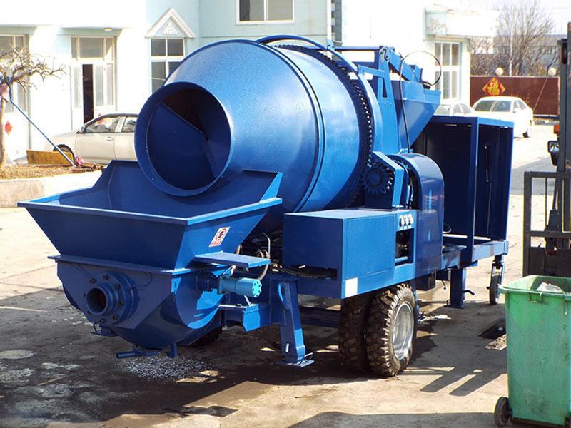 diesel cement mixer pump