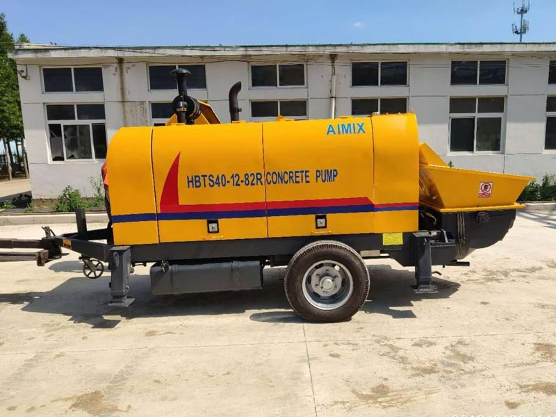 diesel mobile concrete pump