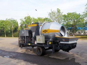 diesel mobile mixer pump