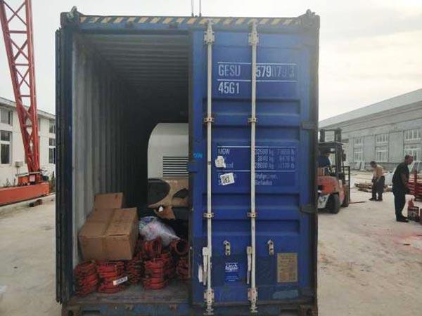 diesel pump shipment
