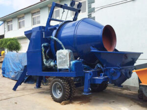 electric concrete mixing pump