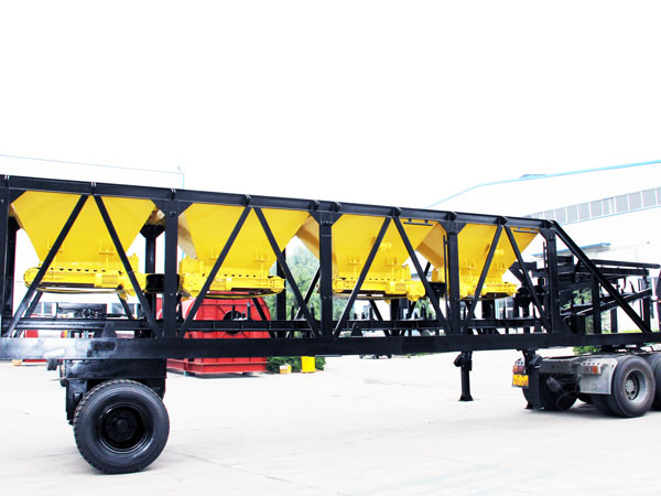 mobile cold aggregate supply system