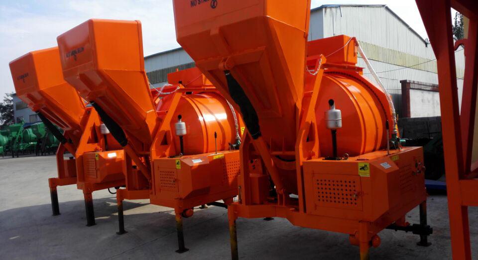 mobile concrete mixer to Dubai
