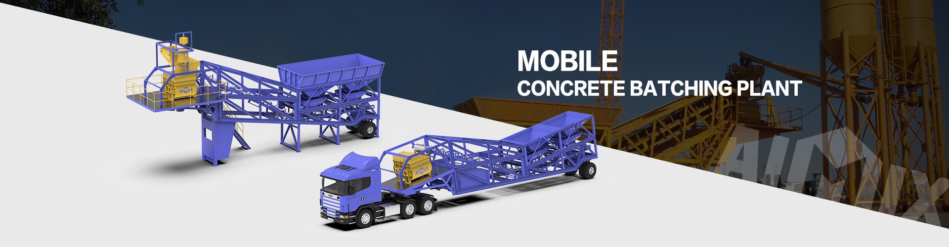 mobile concrete plant banner