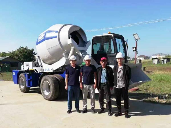 self-loading mixer Myanmar