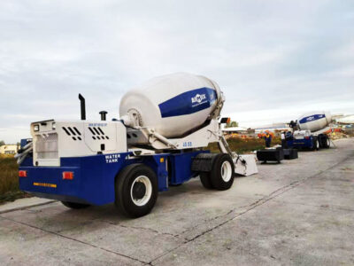 two sets of self loading mixers