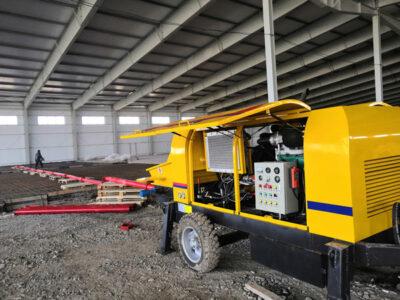 ABT40C diesel concrete pump uz