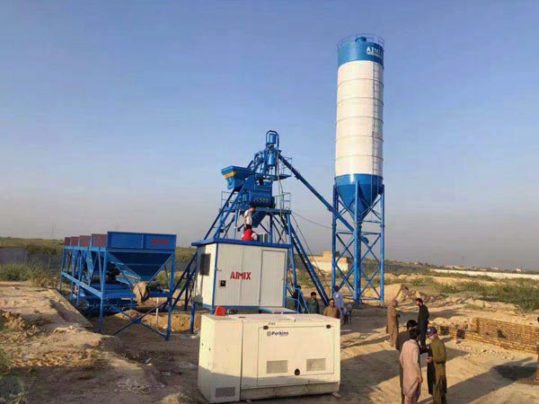 AJ-25 ready mix plant for sale
