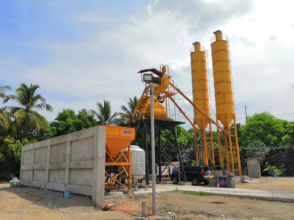 AJ-35 readymix concrete batch plant