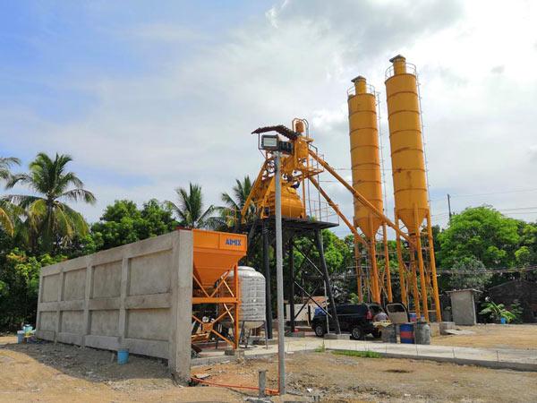 AJ-35 small concrete plant