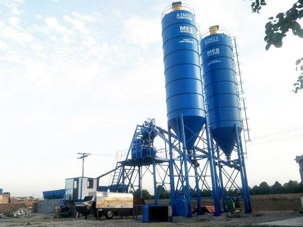 Planta de mistura pronta de concreto AJ-50