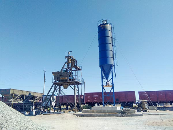 AJ-75 ready mixed concrete plant