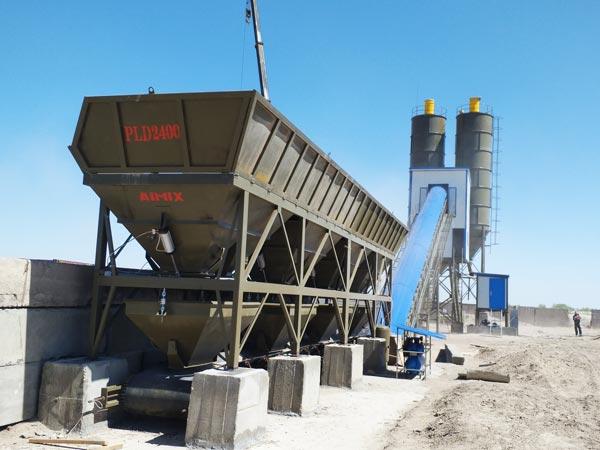 Fábrica de concreto readymix AJ-90