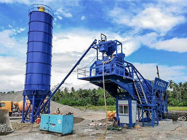 AJY-60 mobile readymix concrete plant