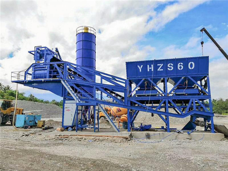 ALY-60 mobile ready mix plant