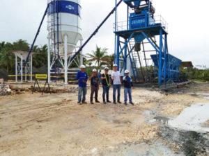 free-foundation concrete batch plant Philippines