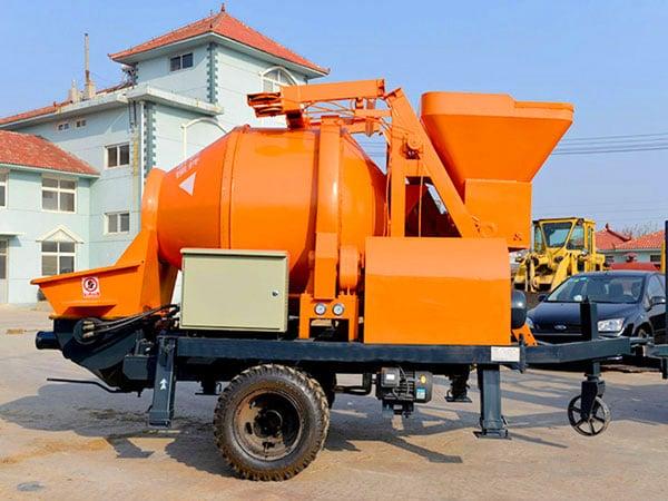 ABJZ30D electric concrete mixer pump