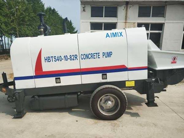 Bomba de concreto ABT40C a diesel