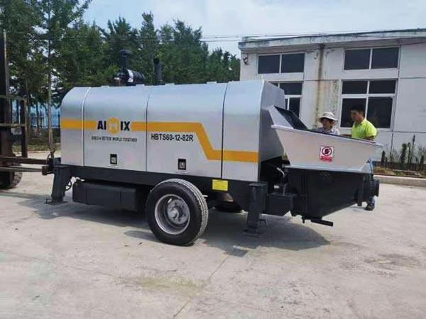 ABT60C concrete pump with diesel engine
