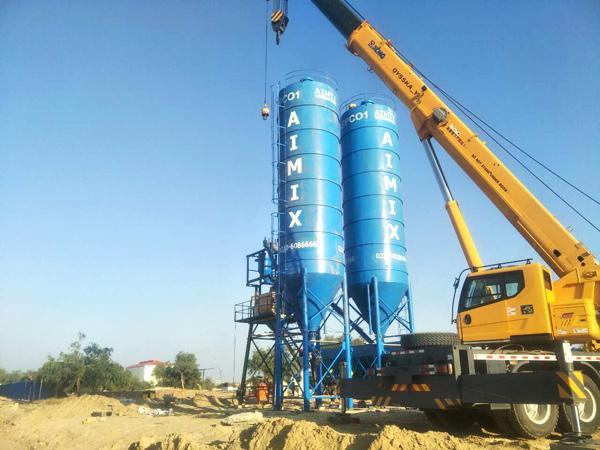 cement silo pakistan