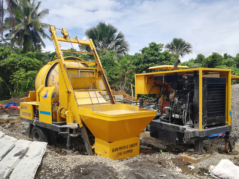 concrete mixer pump Philippines
