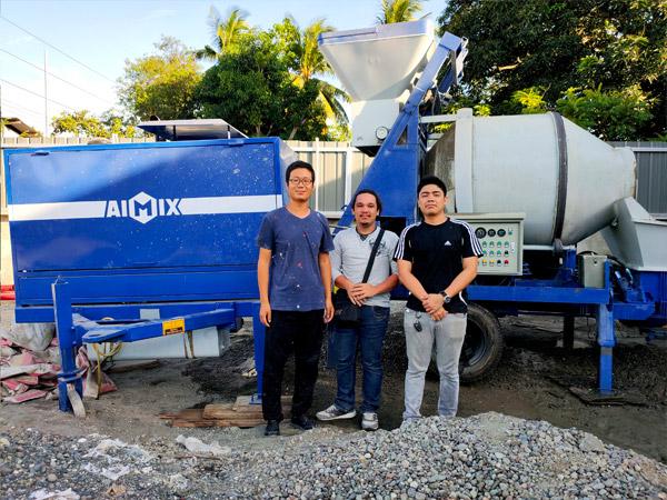 diesel engine mixer pump