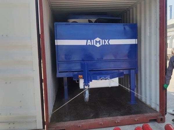 ABJZ40C diesel concrete mixer pump Indonesia