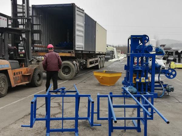 Máquina de bloco de concreto ABM-4C2