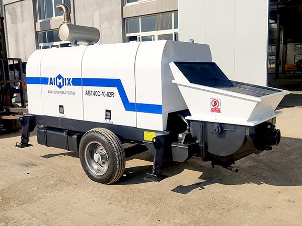 ABT40C diesel engine concrete pump