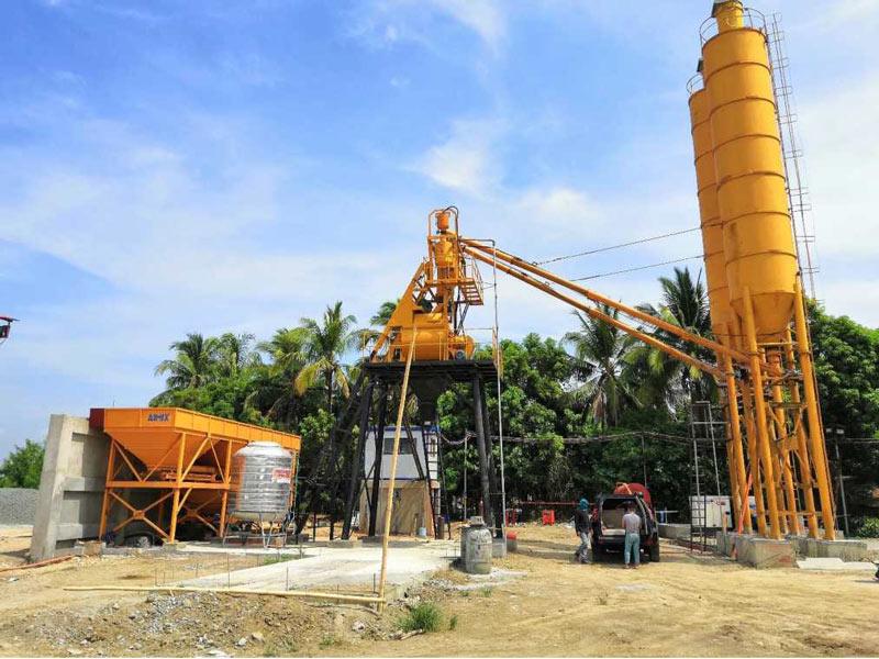 AJ-35 concrete plant Philippines