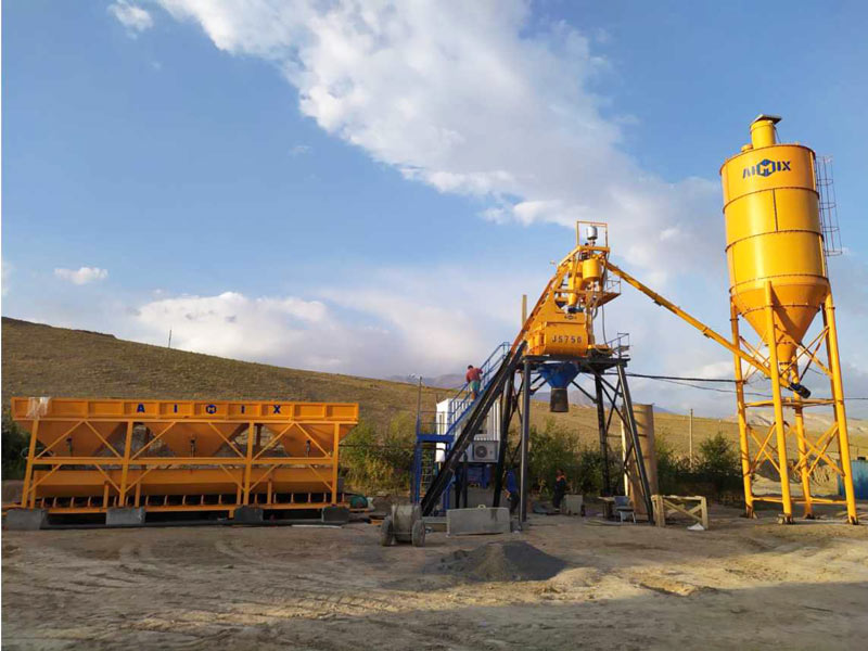 AJ-35 concrete plant Uzbekistan