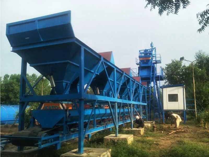 AJ-50 concrete plant Pakistan