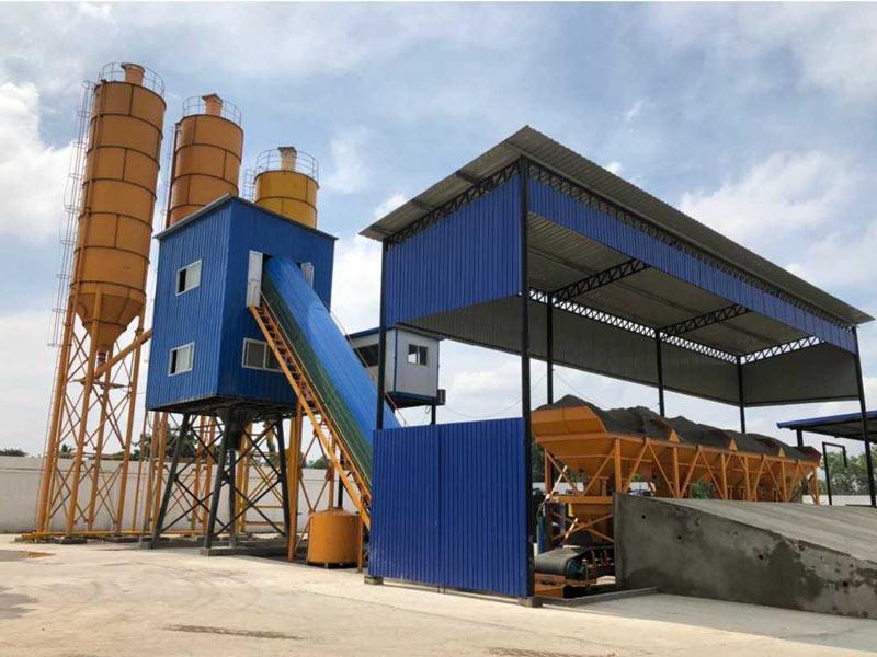AJ-60 concrete batching plant Sri Lanka