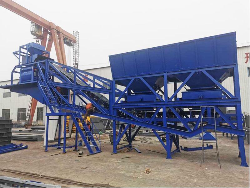 Fábrica de concreto móvel AJY-60 na Malásia