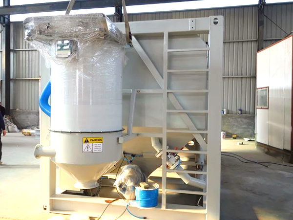 dust collector of horizontal cement silo