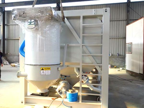 coletor de poeira do silo de cimento horizontal