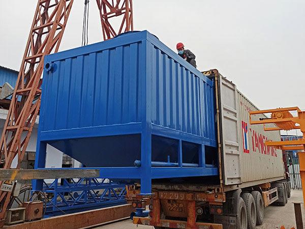 horizontal cement silo to Malaysia