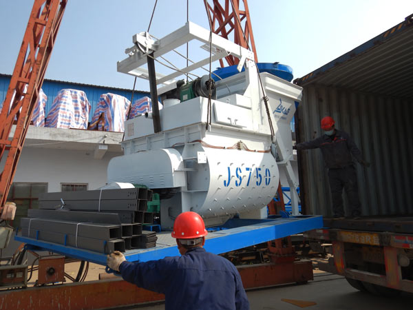 twin shaft mixer for AJ-35