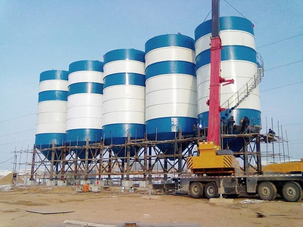 welded cement silo sale