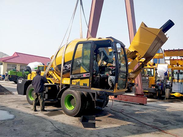 3.5 cubic meter self loading concrete mixer Dodobas