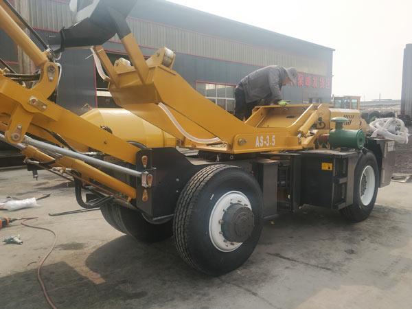 3.5 cubic meter self loading concrete mixer