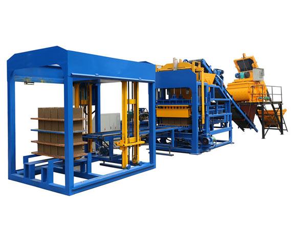 Máquina de moldagem de bloco oco ABM-10S