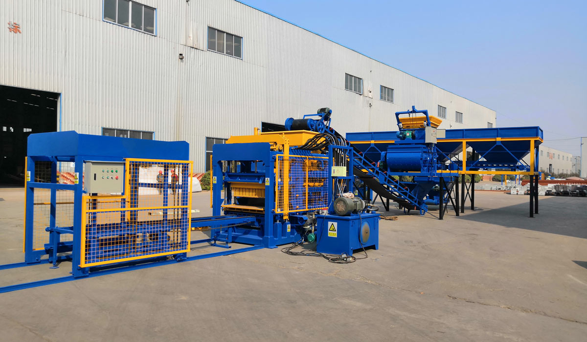 ABM-4S fully-automatic block making machine