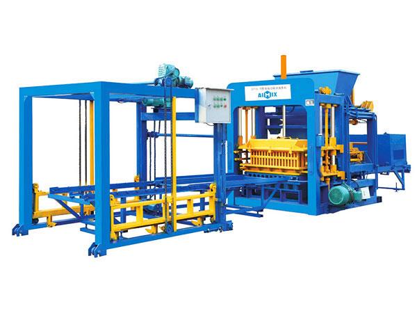 Máquina de fabricação de tijolos ocos ABM-8S