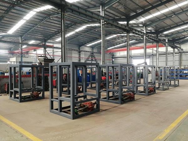 AIMIX bricks machine workshop