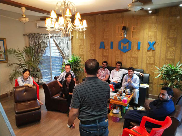 AIMIX group in Pakistan