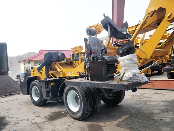 AIMIX self loading mixer to Dodobas