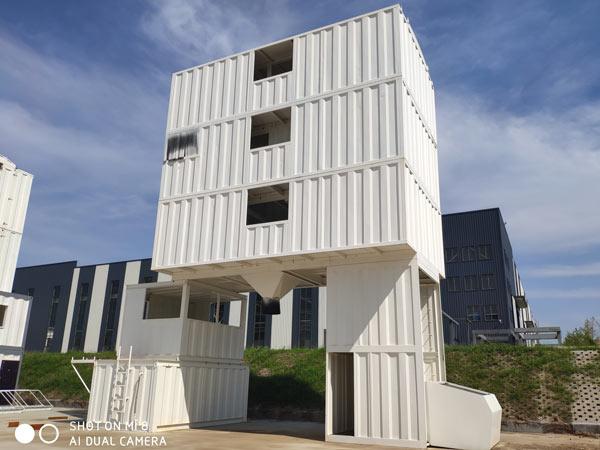 AJ-120 container concrete plant
